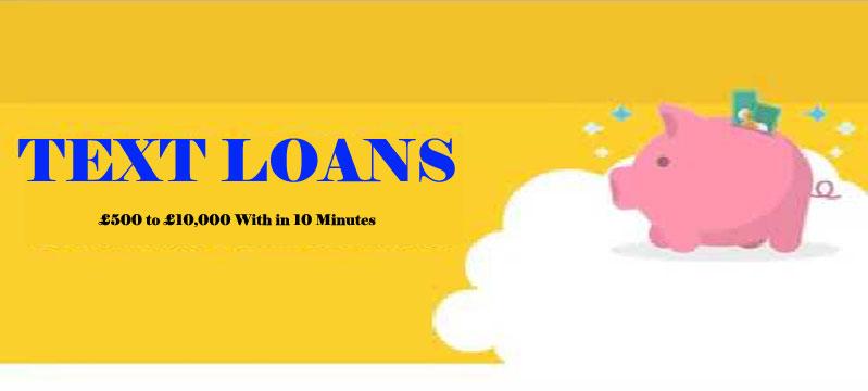 Text Loans Never Let Financial Shortfall Drive You Crazy